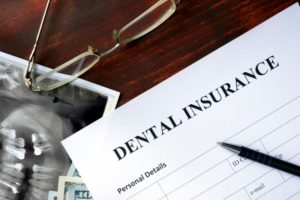 dental insurance form glasses pen